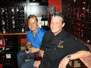 Jet Tila at the Winery in Newport Beach