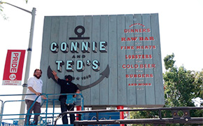 Connie & Ted's in West Hollywood