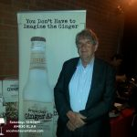 President and Founder Bruce Cost of his nameskae unfiltered Ginger Ale