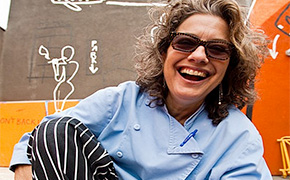 Susan Feniger of Border Grill and Susan Feniger's Street