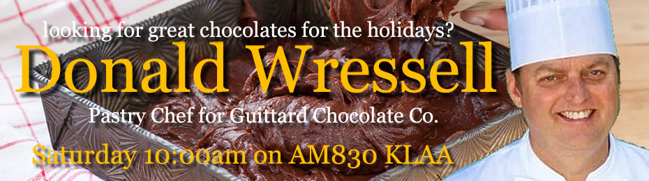 Donald Wressell of Guittard Chocolate Company
