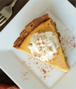 Pumpkin Cheesecake by Chef Elizabeth Whitt