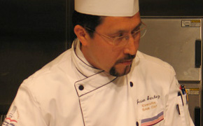 Jesus Sanchez of the Culinary Arts Institute at Los Angeles Mission College