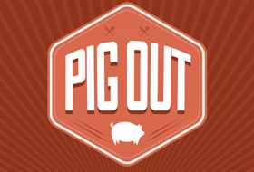 3rd annual PigOut in Costa Mesa