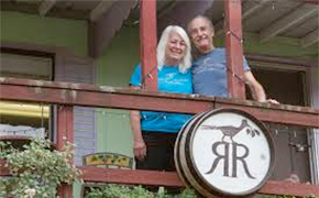 Jim and Judy Brady of Roadrunner Ridge Winery