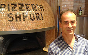 Sal Maniaci at Pizzeria Sapori