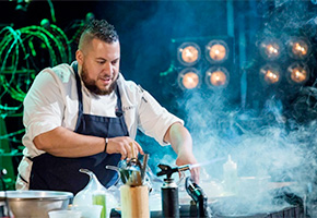 Amar Santana at the Top Chef Finale