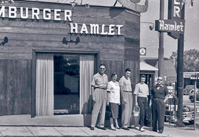 Vintagfe Sunset Strip Hamburger Hamlet