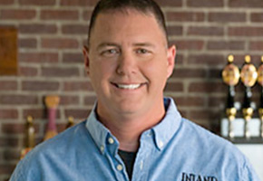 Commander Robert Durant of Inland Wharf Brewing