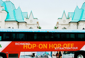 Richmond Hop On Hop Off Attraction Tour