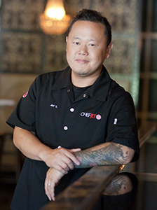 Chef Jet Tila host of the SoCal Restaurant Show