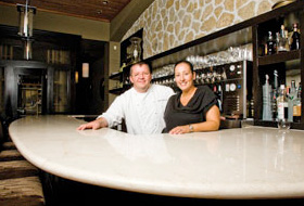 Florent and Amelia Marneau of Marche Moderne at South Coast Plaza