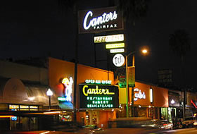 Canter's Delicatessen in the Fairfax District of Los Angeles