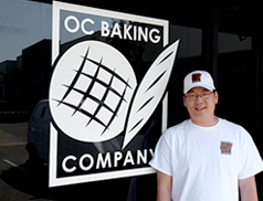 Dean Kim of the OC Baking Company