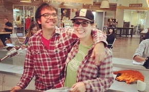 Jeff and Christa Duggan of Portola Coffee Lab in Costa Mesa