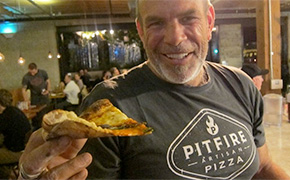 Paul Hibler of Pitfire Pizza and Superba Snack Bar