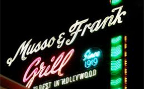 Musso and Frank Grill in Hollywood