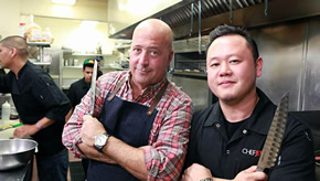 Andrew Zimmern and Jet Tila on Appetite for Life