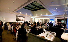 The new dining room of Spago Beverly Hills