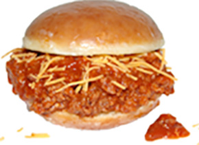 Krispy Kreme Sloppy Joe from Chicken Charlies