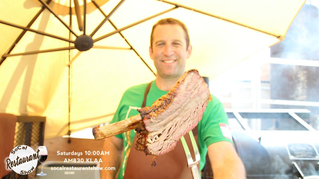 Adam Perry Lang BBQ at Jimmy Kimmel Live studios in Hollywood