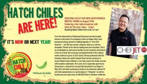 Melissas World Variety produce Hatch Chile Roast at Bristol Farms with Jet Tila
