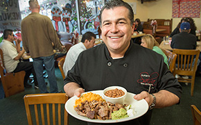 Marco Zapien of Zapiens Salsa Grill and Taqueria