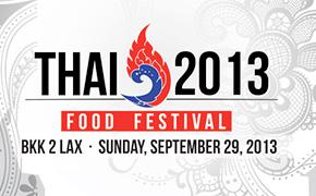 Thai 2013 Food Festival
