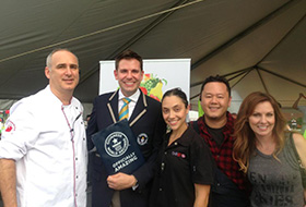 Chef Jet breaks Guinness World Record for Largest Fresh Fruit Salad