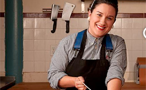 Erika Nakamura of Lindy and Grundy Meats