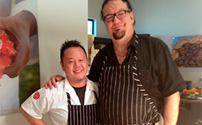 Jet Tila and Penn Jillette