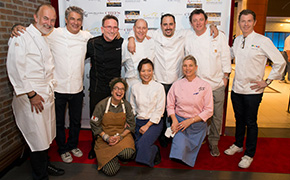Chefs to the Max benefit for Max Jacobson at RX Boiler Room