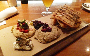Mezze Plate at J. Nichols Kitchen