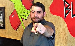 Ryan Hankins of Gril Em All Burgers