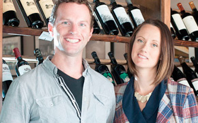 Angela and Mark Dutton of District Wine