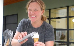 Kim Malek of Salt and Straw