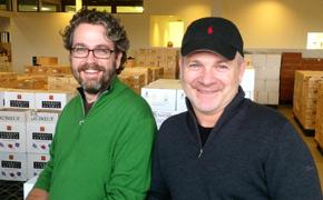 Kyle Meyer and Tristen Beamon of Best Wines Online