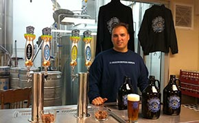 Rob Croxall of El Segundo Brewing Company