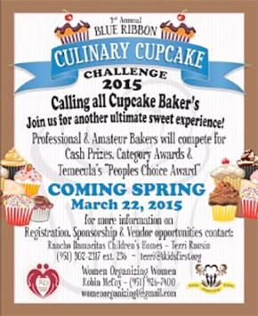 Blue Ribbon Cupcake Challenge