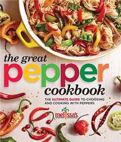 Melissa's Great Pepper Cookbook