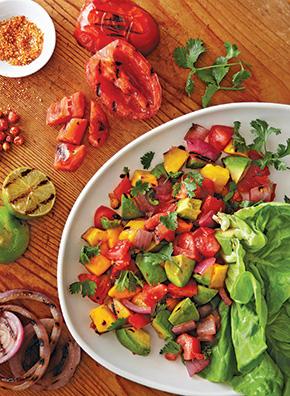 Melissa's Grilled Salsa Salad