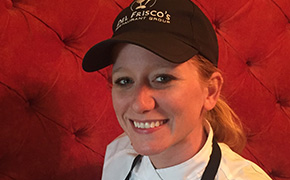 Sarah Daniels of Del Frisco's Grille in Irvine