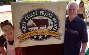 Amy and Craig Nickoloff of West Coast Prime Meats
