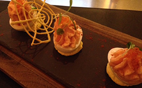 Deviled Eggs at db Brasserie in Las vegas