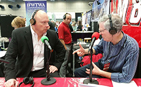 John Golicz of Unicomm with Andy Harris
