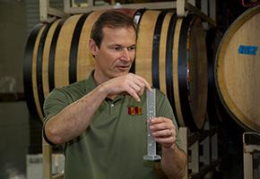 Gary Stewart of Four Brix Winery