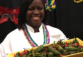 Marlene Moore at the Pechanga Microbrew Festival and Chili Cookoff