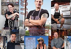 Long Beach Kitchen Ink Calendar