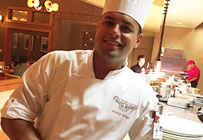 Andre Pinto of Paisanos Italian Restaurant at Pechanga