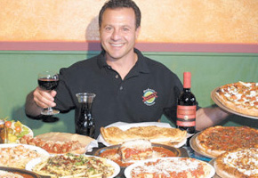 Frank Buono of Buono''s P{izzeria in Long Beach